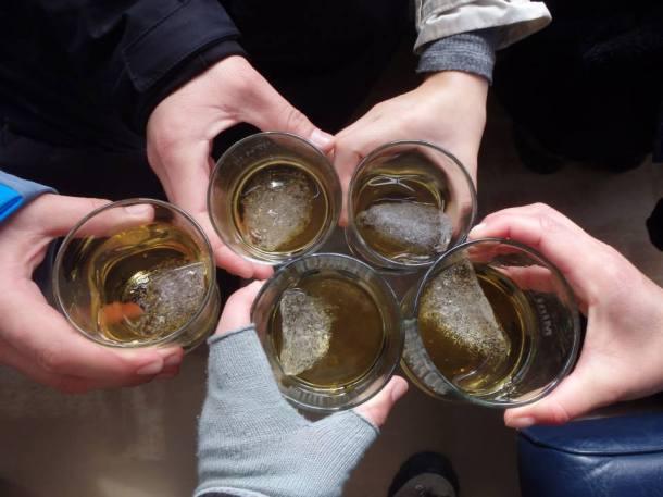 whisky en las rocas perito moreno glaciar