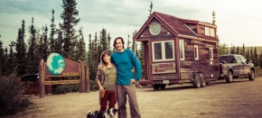 Tiny house giant journey: La vida sobre ruedas