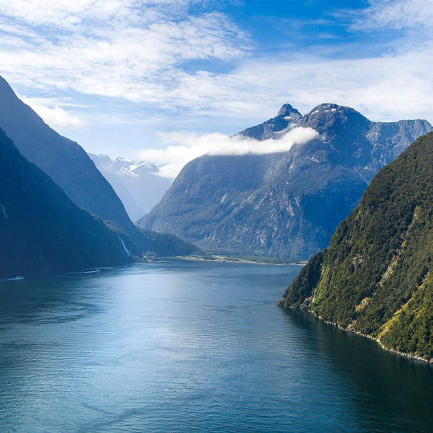 Milford-Sound-aerial-view